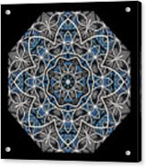 Papilloz - Mandala Acrylic Print