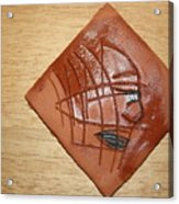 Papyrus - Tile Acrylic Print