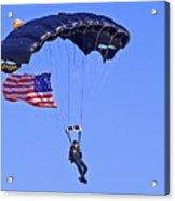 Parachutist Acrylic Print