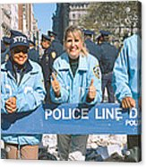 Parade For 1998 World Series Champions Acrylic Print