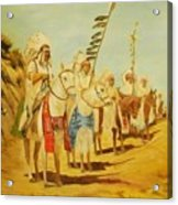 Parade Of The Chiefs Acrylic Print by G Kay Cummings