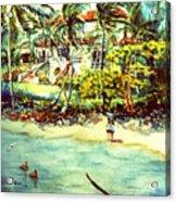 Paradise At Dorado Puerto Rico Acrylic Print