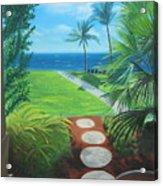 Paradise Beckons Acrylic Print