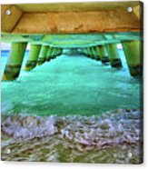 Paradise In Grand Turk Never Ends Acrylic Print