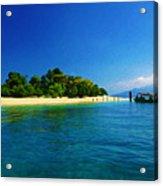 Paradise Island Haiti Acrylic Print