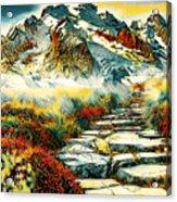 Paradise Mountain Acrylic Print