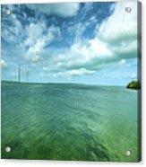 Paradise On Earth, Florida Keys Acrylic Print