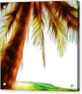 Paradise Palm Acrylic Print