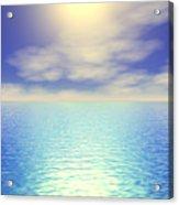 Paradise Sky Acrylic Print