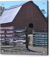 Paradise Valley Farm Montana Acrylic Print