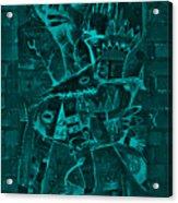 Paramount Turquoise Acrylic Print