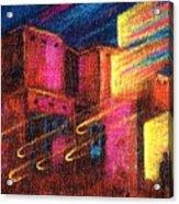 Paranormal Pueblos  Acrylic Print