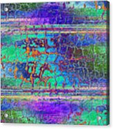 Parched - Abstract Art Acrylic Print