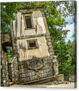 Parco Dei Mostri, Park Of The Monster, In Bomarzo Acrylic Print