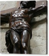 Paris - Jesus On Cross Acrylic Print