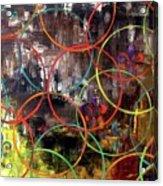 Paris Abstract Acrylic Print