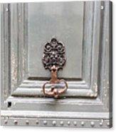 Paris Apartment - Paris Door Photography Acrylic Print