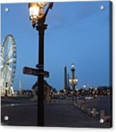 Paris At Dawn Acrylic Print