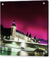 Paris At Night 18 Art Acrylic Print