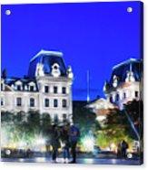 Paris At Night 21art Acrylic Print