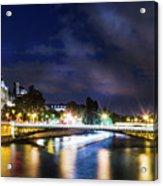 Paris At Night 23 Acrylic Print