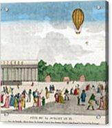 Paris: Bastille Day, C1801 Acrylic Print