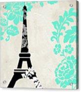 Paris Blues Acrylic Print