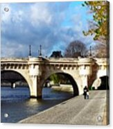 Paris Bridge 0523 Acrylic Print