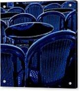 Paris Chairs Acrylic Print