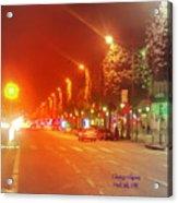 Paris Champs-elysees Acrylic Print