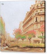 Paris, City Of Lovers Acrylic Print