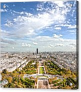 Paris City View 20 B Acrylic Print