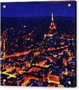 Paris City View Acrylic Print