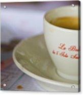 Paris Coffee Acrylic Print