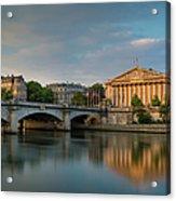 Paris Dawn Acrylic Print