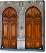 Paris Doors Acrylic Print