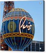 Paris-eifel Tower-las Vegas Acrylic Print