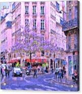 Paris Intersection Acrylic Print