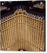 Paris Lights-las Vegas Acrylic Print