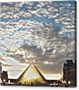 Paris Louvre Acrylic Print