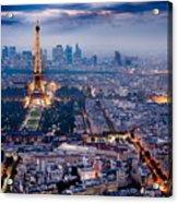 Paris Acrylic Print