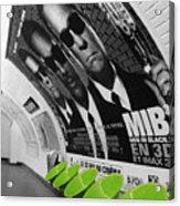 Paris Metro 4 Acrylic Print