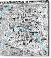 Paris Monumental Acrylic Print