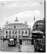 Paris Opera 1935 Acrylic Print