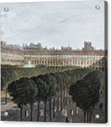 Paris: Palais Royal, 1821 Acrylic Print