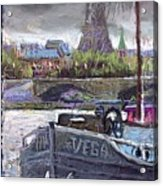 Paris Pont Alexandre IIi Acrylic Print