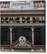 Paris Pool Hall Acrylic Print