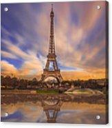 Paris Reflections Acrylic Print