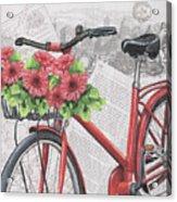 Paris Ride 2 Acrylic Print