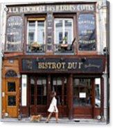 Paris Street Life 2 Acrylic Print